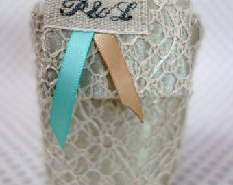 lace handkerchief case