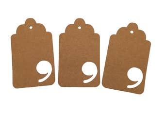Number Nine Gift Tags