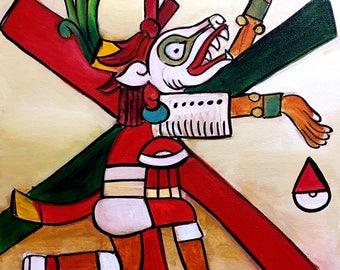 Xolotl Original Painting