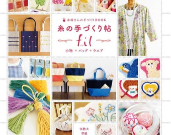 New book : Yarn handmade small items bag wear
