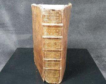 Rare Old Book   MISSALE ROMANUM Ex Decreto Sacro Sancti tridentini restitutum   Edition 1724