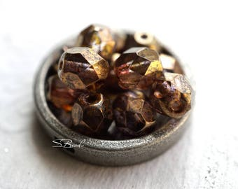 Smoky Brown, Czech Beads, Beads
