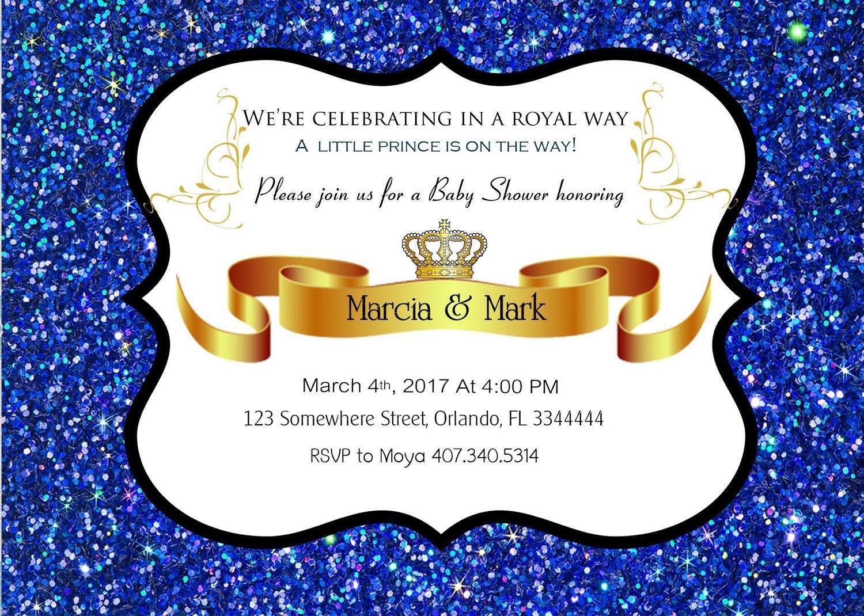 Royal Baby Shower Invitation - [homestartx.com]