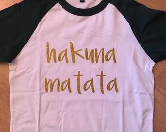 Hakuna Matata Raglan Shirt