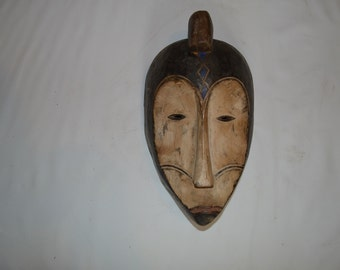 Traditional Central African Tribal  Mask