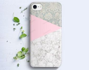 iPhone Case - Geometric Marble Mandala - iPhone 4/4s iPhone 5 iPhone 5c iPhone 5s iPhone 6 iPhone 6s iPhone SE iPhone 7