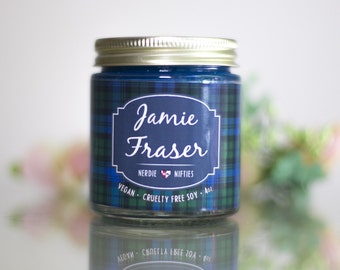 Jamie Fraser -- Outlander Inspired Soy Candle (4 oz)