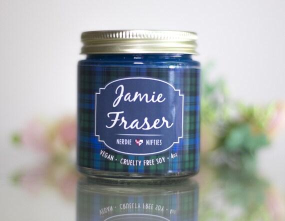 House Of Fraser Wedding Gifts: Jamie Fraser Outlander Inspired Soy Candle 4 Oz