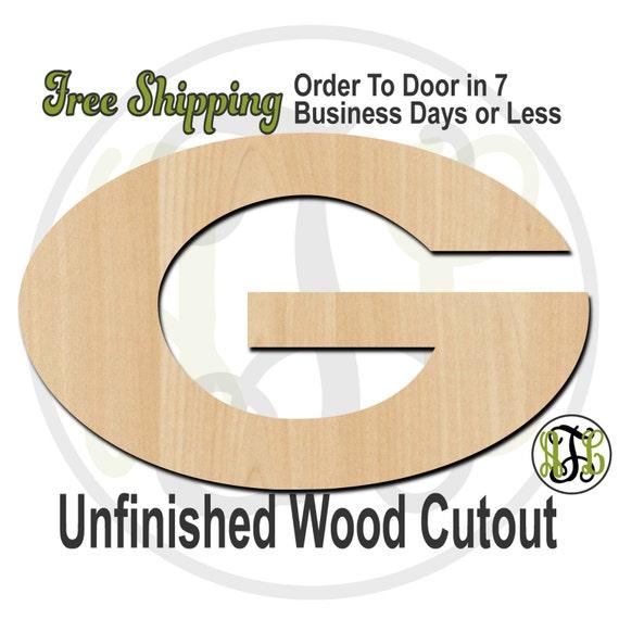G- 60146- School Spirit Cutout, unfinished, wood cutout, wood craft, laser cut shape, wood cut out, Door Hanger, wooden, wall art