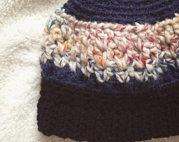 Ponytail beanie PATTERN, Crochet ponytail beanie, Ponytail beanie, Top knot beanie pattern, bun beanie pattern
