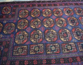 Vintage Bokhara Prayer Rug
