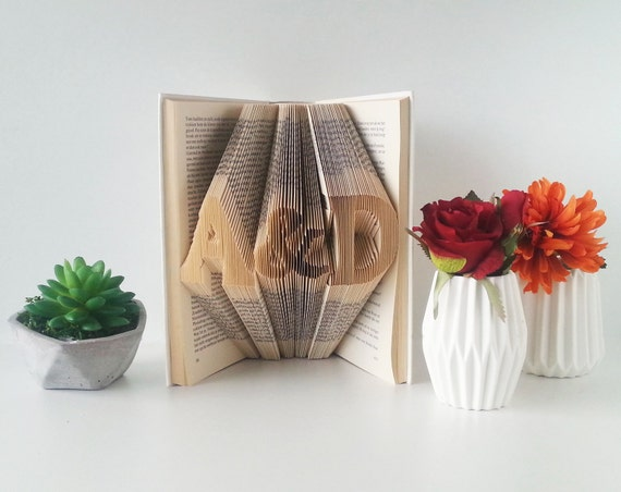 First Anniversary Gift Gift For Him Wedding Gift Folded