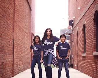 El Original   El Remix   El Encore   Camisas   Coincidencia de camisetas   Para las mujeres   Los hombres   Los niños   Ropa   Tallas unisex   Jóvenes   Familia   Camiseta