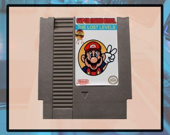 Super Mario Bros 2 The Lost Levels Nintendo NES Game TESTED & WORKING