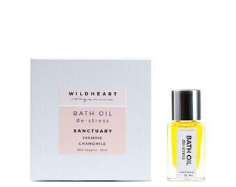 SAVE 20% Organic Aromatherapy Wellness Bath Oil Therapy Mini