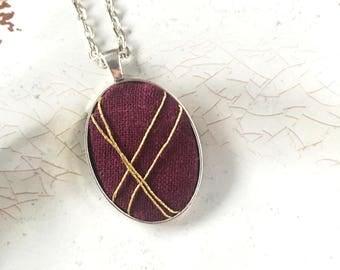Geometric Necklace. Minimalist Jewelry. Gift for Her. Jewelry for Her. Gift from Daughter. Mom Gift.