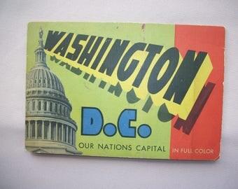 Washington DC Souvenir Booklet 1951