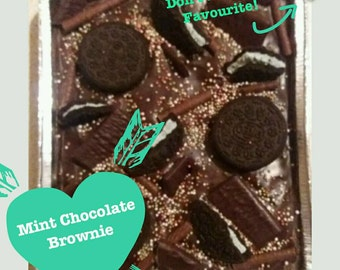 Mint Chocolate Brownie / Mint Chocolate Traybake / Mint Madness / Mint Lover / Chocolate Lover / Family Sharer