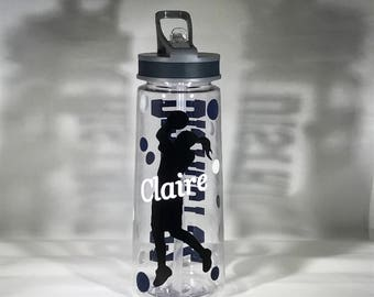 Custom/Personalized Basketball Water Bottle 25 oz.