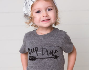 The Keep True Tee, Arrow Shirt,  3-6m to 12y, baby clothing, baby shower gender neutral baby gift, tribal, toddler clothing, kids spring