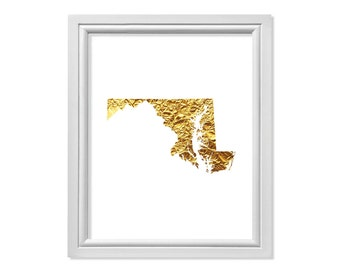Maryland State, Map of Maryland state, Map United States, Map Maryland, Map of the State of Maryland, Maryland Wall Art, Maryland Print
