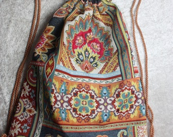 Frida Kahlo - style - noble hippie - backpack - ethno - backpack - Gymbag