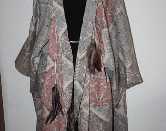 Kimono - poncho - Cape - poncho - Ethnostyle
