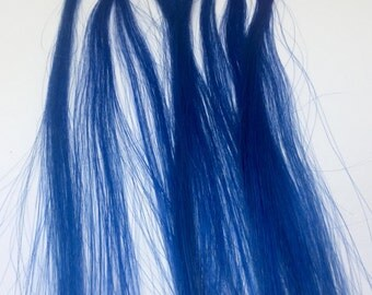 10 Strands Blue U Tip Fusion Nail Remy Human Hair Extensions