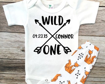 Baby Boy Clothes Wild One outfit, 1st Birthday Boy Outfit, 1st Birthday Shirt, 1st Birthday outfit, 1st Birthday wild One outfit, Wild One