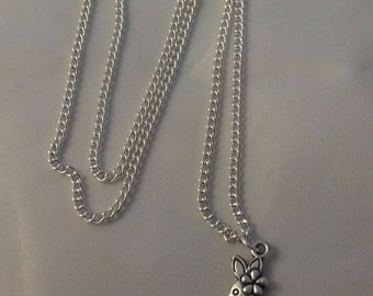Rabbit Charm Necklace, Bunny Jewellery, Bunny Rabbit Jewelry, Silver Plated Chain, Birthday Gifts For Her, Ladies Chains, Female Fashion