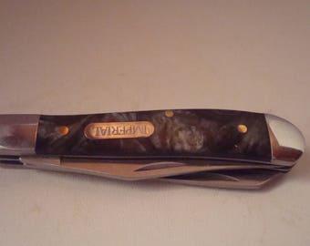 Vintage Shrade Imperial 3 blade pocket knife
