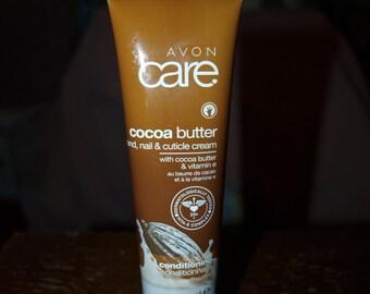 Avon Care Cocoa Butter Hand, Nail and Cuticle Cream