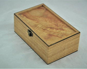 Inlay Australian timber wooden box