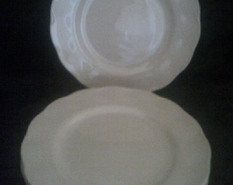 Grindley Peach Petal Side Plates 6 of