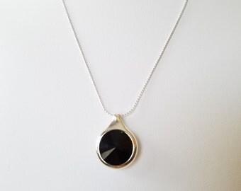 Swarovski Crystal Necklace, Silver Necklace, Gold Necklace