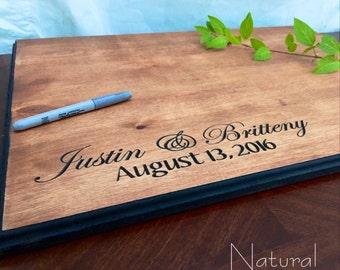 Wedding Guest book- Guest book Alterntative - Wedding Signature Board - Wedding present - Alternative Guestbook - Home Decor