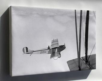 Canvas 24x36; Curtiss Jn-4 Jenny P3