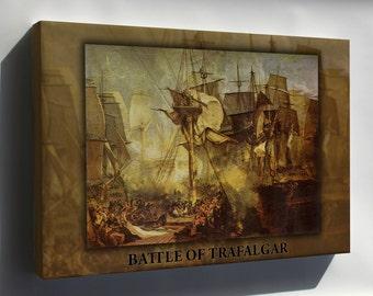 Canvas 24x36; Battle Of Trafalgar P2