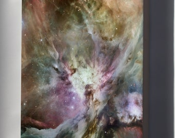 Canvas 16x24; Orion Nebula Image Composited With A Spitzer Hubble Image