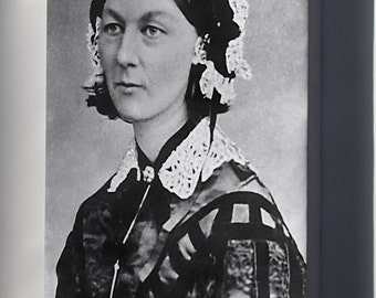 Canvas 16x24; Florence Nightingale