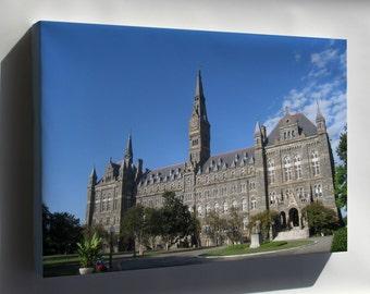 Canvas 16x24; Georgetown University 24