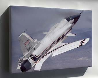 Canvas 16x24; X-29 During A 1991 Research Flight X-Plane Experimental