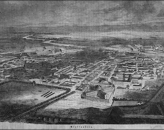16x24 Poster; Alexandria  1859 In German