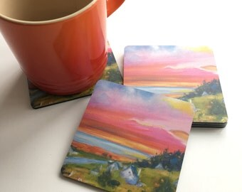 Summer Sunset Achmore COASTER
