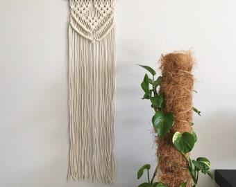 macrame wall hanging - bohemian minimalist decor - wall hanger