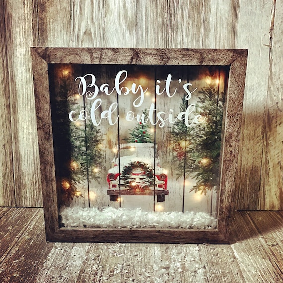 how to make lighted christmas boxes