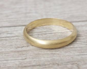 Classic men's wedding band, gold men wedding ring, Men's wedding band, 14k Wedding band for men, Gold wedding ring, wedding band for him