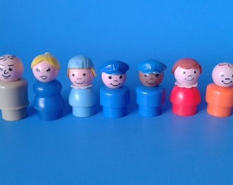 "Fisher Price Little People "" #933 Jetport People "" 1970's"