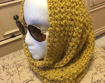 Yellow Gold Infinity Scarf