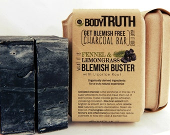 Blemish Buster, Charcoal Complexion Bar for Face & Body